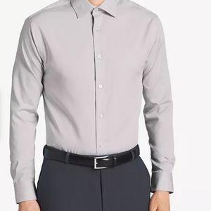 Calvin Klein Men's Regular Fit Non Iron Dress Top